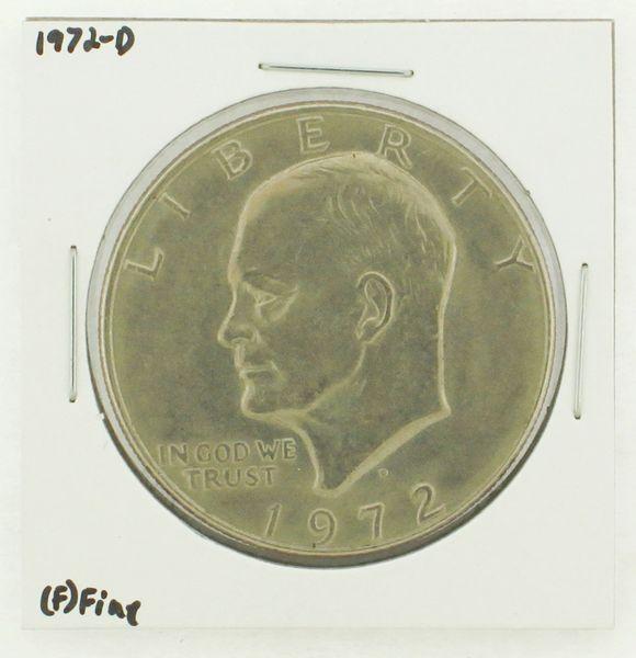 1972-D Eisenhower Dollar RATING: (F) Fine N2-2961-02
