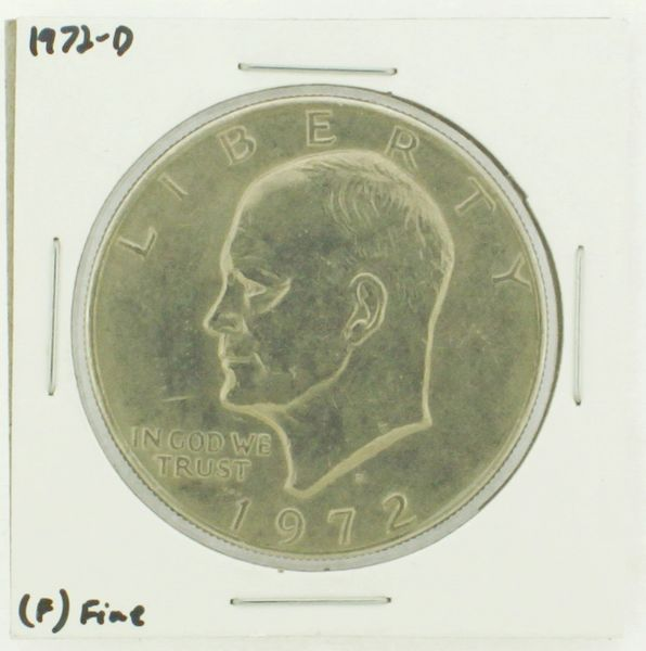 1972-D Eisenhower Dollar RATING: (F) Fine N2-2961-03