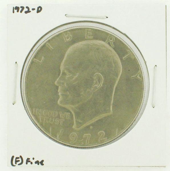 1972-D Eisenhower Dollar RATING: (F) Fine N2-2961-04
