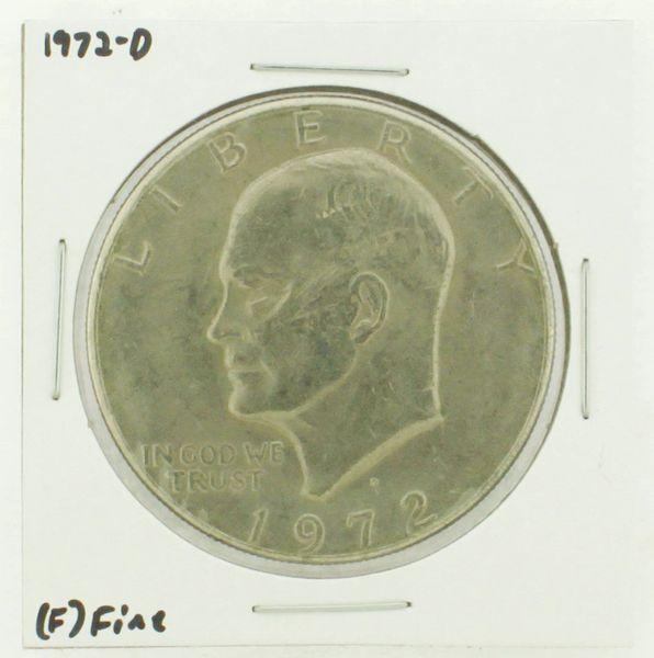 1972-D Eisenhower Dollar RATING: (F) Fine N2-2961-05