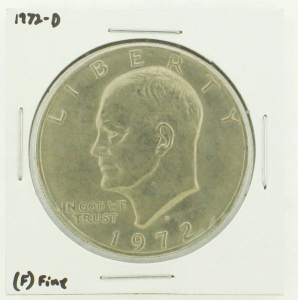 1972-D Eisenhower Dollar RATING: (F) Fine N2-2961-07