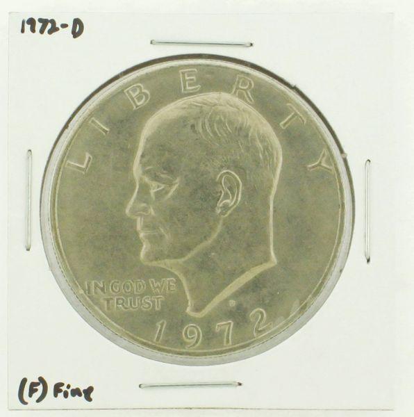 1972-D Eisenhower Dollar RATING: (F) Fine N2-2961-08