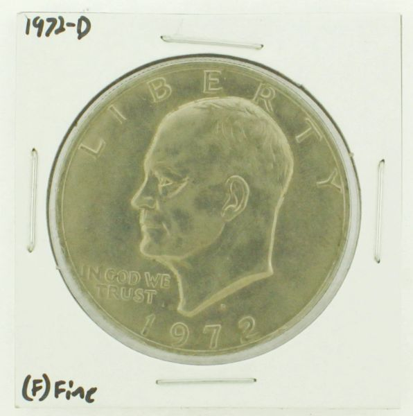 1972-D Eisenhower Dollar RATING: (F) Fine N2-2961-10