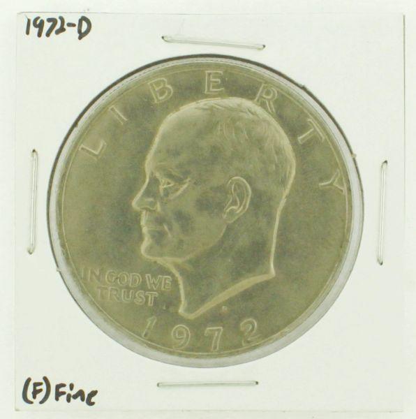 1972-D Eisenhower Dollar RATING: (F) Fine N2-2961-10
