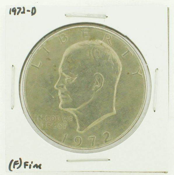 1972-D Eisenhower Dollar RATING: (F) Fine N2-2961-11