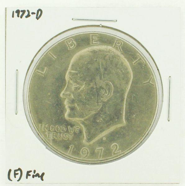 1972-D Eisenhower Dollar RATING: (F) Fine N2-2961-12