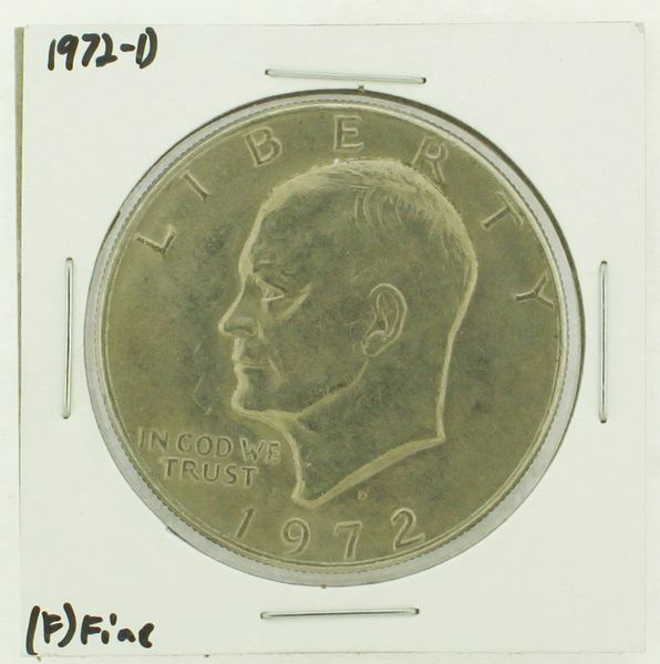 1972-D Eisenhower Dollar RATING: (F) Fine N2-2961-13