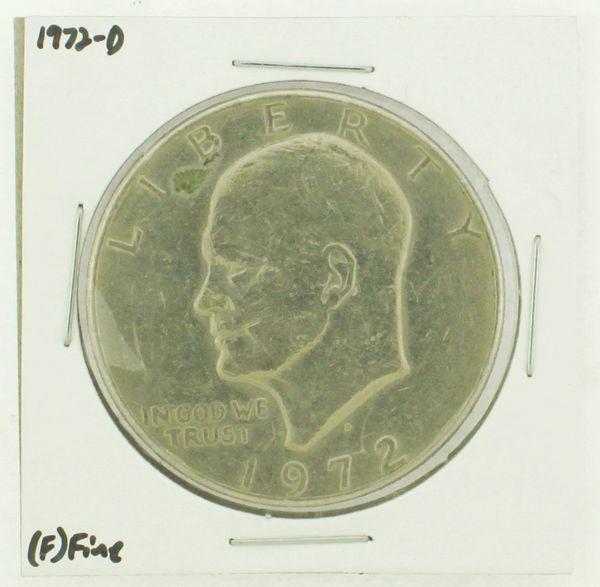 1972-D Eisenhower Dollar RATING: (F) Fine N2-2961-14