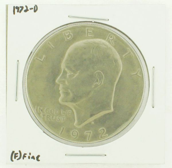 1972-D Eisenhower Dollar RATING: (F) Fine N2-2961-15