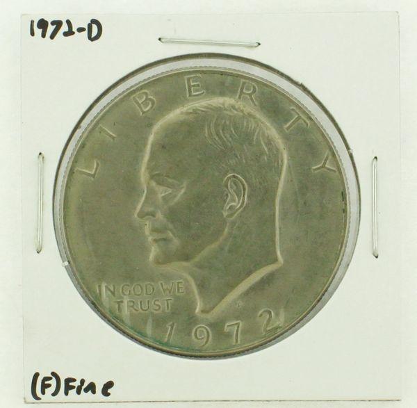 1972-D Eisenhower Dollar RATING: (F) Fine N2-2961-18