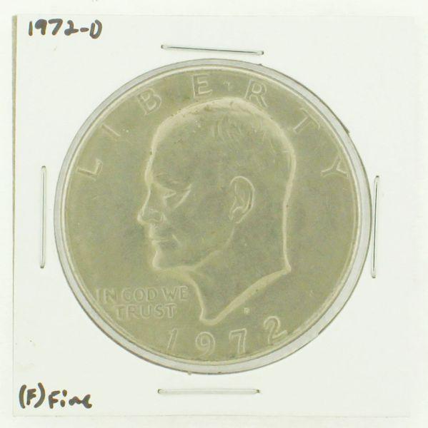 1972-D Eisenhower Dollar RATING: (F) Fine N2-2961-19