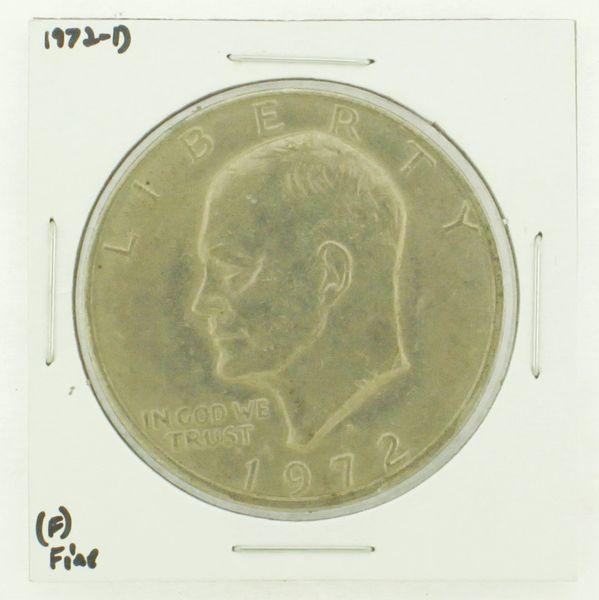 1972-D Eisenhower Dollar RATING: (F) Fine N2-2961-22