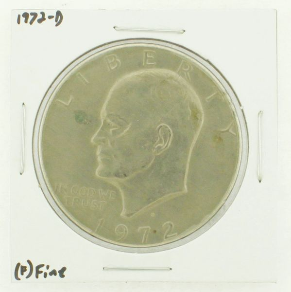 1972-D Eisenhower Dollar RATING: (F) Fine N2-2961-23