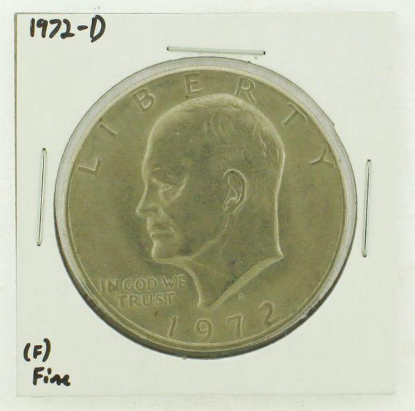 1972-D Eisenhower Dollar RATING: (F) Fine N2-2961-25