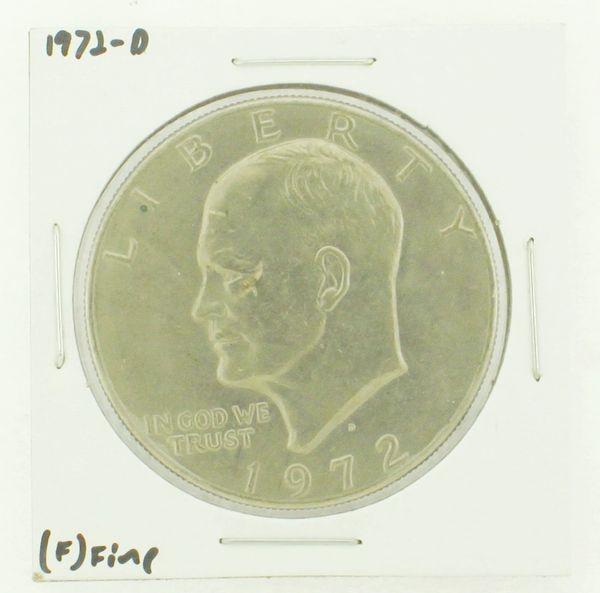 1972-D Eisenhower Dollar RATING: (F) Fine N2-2961-27