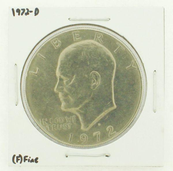 1972-D Eisenhower Dollar RATING: (F) Fine N2-2961-28