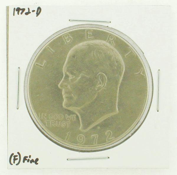 1972-D Eisenhower Dollar RATING: (F) Fine N2-2961-29