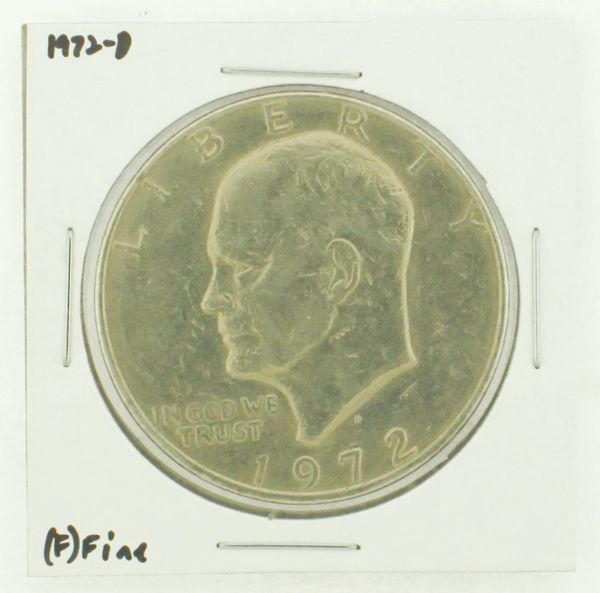 1972-D Eisenhower Dollar RATING: (F) Fine N2-2961-31