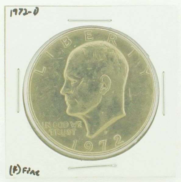 1972-D Eisenhower Dollar RATING: (F) Fine N2-2961-32