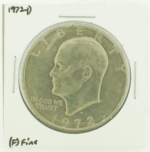 1972-D Eisenhower Dollar RATING: (F) Fine N2-2961-34