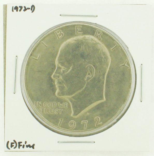 1972-D Eisenhower Dollar RATING: (F) Fine N2-2961-36