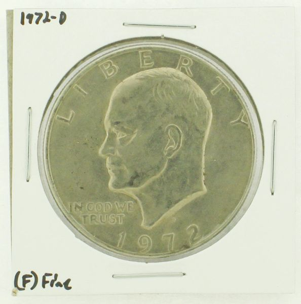 1972-D Eisenhower Dollar RATING: (F) Fine N2-2961-37