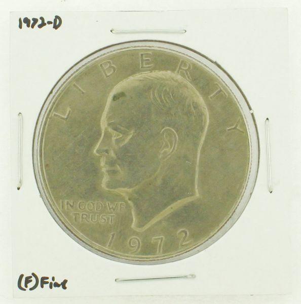 1972-D Eisenhower Dollar RATING: (F) Fine N2-2961-38