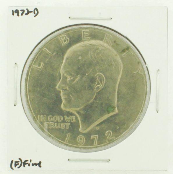 1972-D Eisenhower Dollar RATING: (F) Fine N2-2961-39