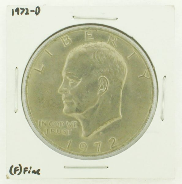 1972-D Eisenhower Dollar RATING: (F) Fine N2-2961-40