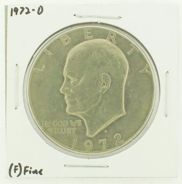 1972-D Eisenhower Dollar RATING: (F) Fine N2-2961-41
