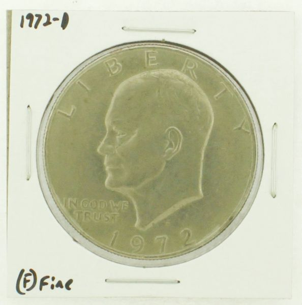 1972-D Eisenhower Dollar RATING: (F) Fine N2-2961-42