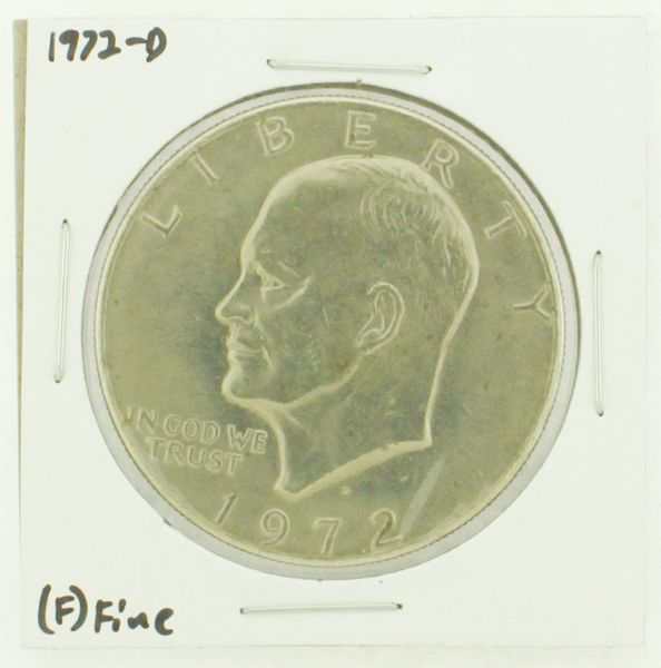 1972-D Eisenhower Dollar RATING: (F) Fine N2-2961-43