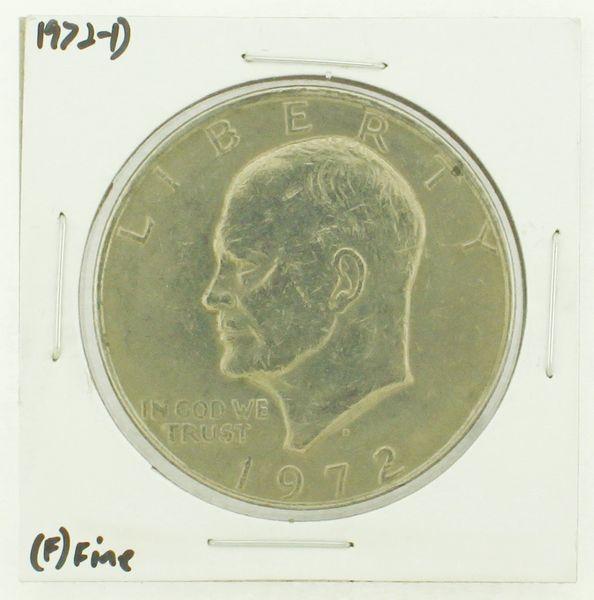 1972-D Eisenhower Dollar RATING: (F) Fine N2-2961-44