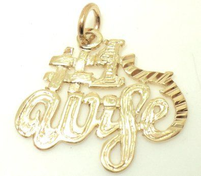 Number 1 Wife Charm (JC-1018)