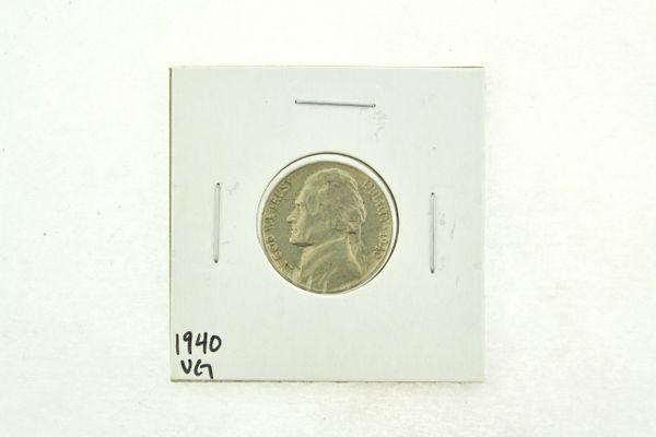 1940 Jefferson Nickel (VG) Very Good N2-2722-1