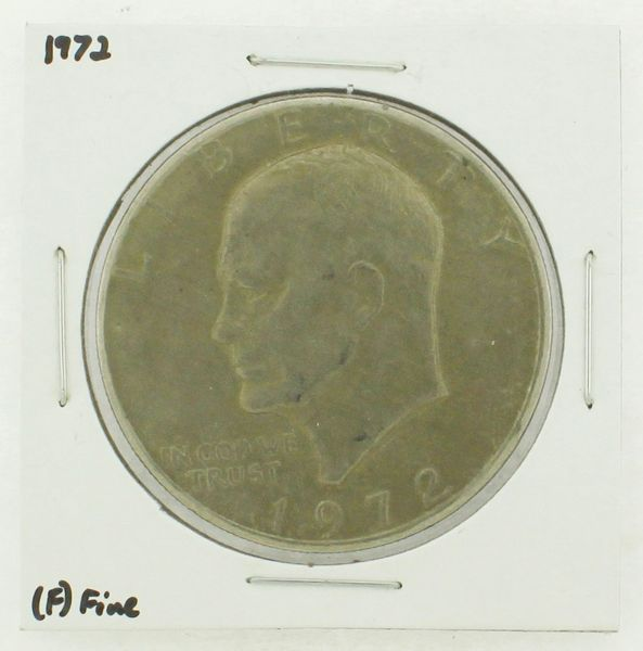 1972 Eisenhower Dollar RATING: (F) Fine N2-3204-02