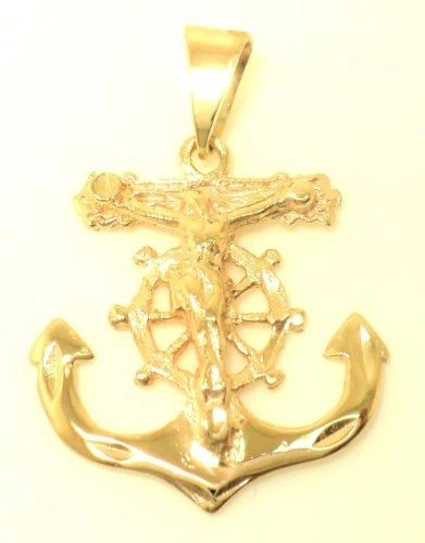 Crucifix Anchor Pendant (JC-1036)