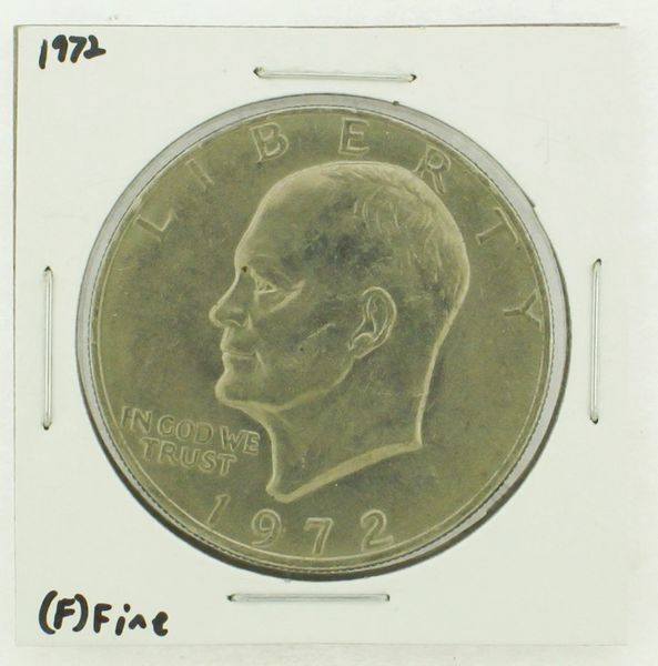 1972 Eisenhower Dollar RATING: (F) Fine N2-3204-03