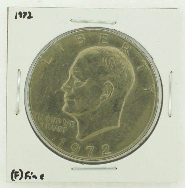 1972 Eisenhower Dollar RATING: (F) Fine N2-3204-04