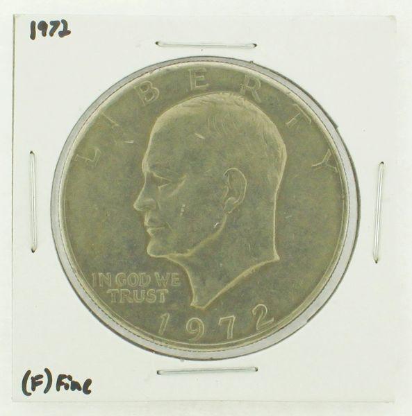 1972 Eisenhower Dollar RATING: (F) Fine N2-3204-05