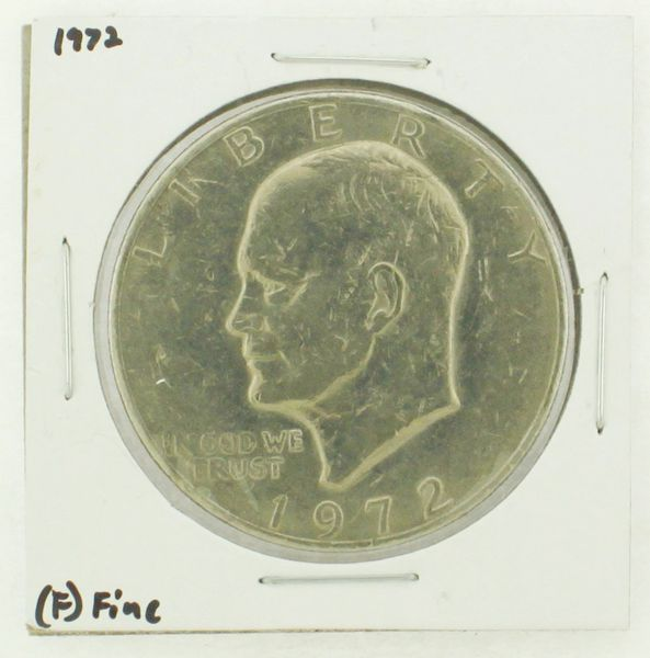 1972 Eisenhower Dollar RATING: (F) Fine N2-3204-06