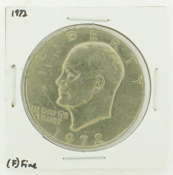1972 Eisenhower Dollar RATING: (F) Fine N2-3204-08