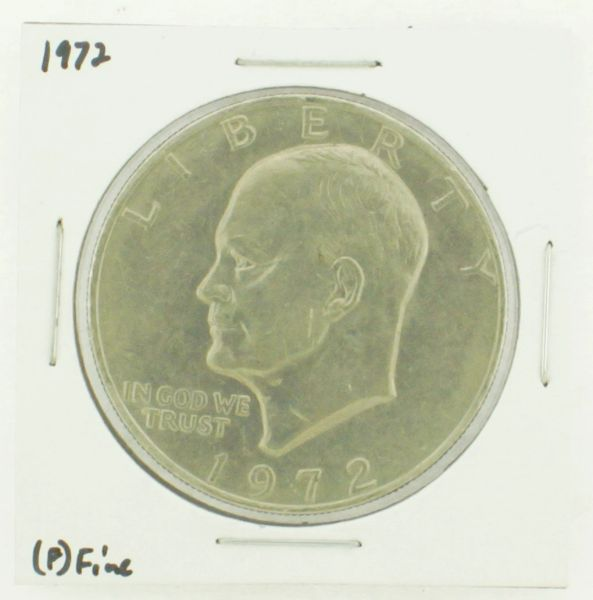 1972 Eisenhower Dollar RATING: (F) Fine N2-3204-12