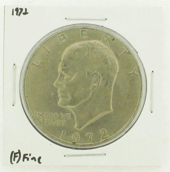 1972 Eisenhower Dollar RATING: (F) Fine N2-3204-13