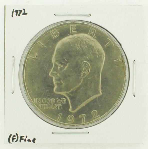 1972 Eisenhower Dollar RATING: (F) Fine N2-3204-14