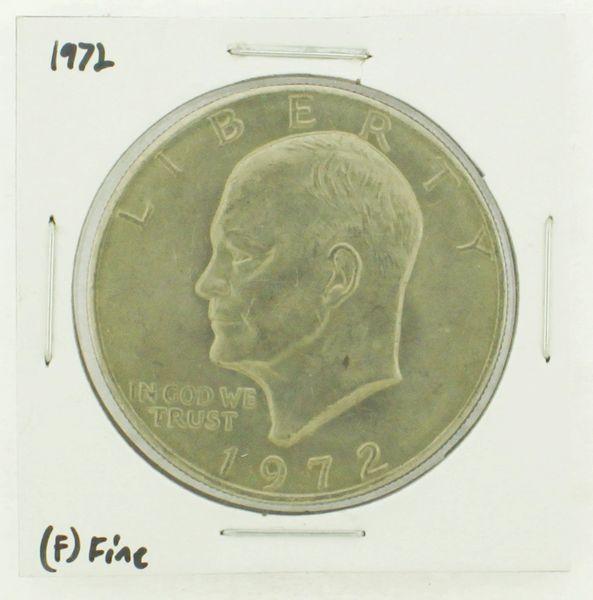 1972 Eisenhower Dollar RATING: (F) Fine N2-3204-15