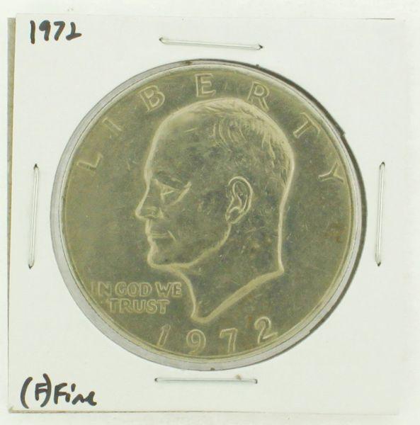 1972 Eisenhower Dollar RATING: (F) Fine N2-3204-16