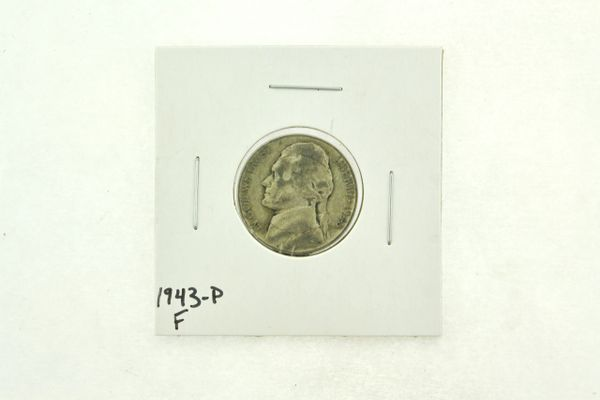 1943-P Jefferson Nickel (F) Fine N2-2734