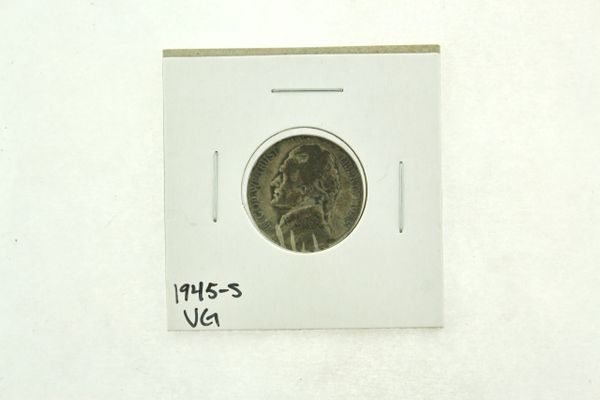 1945-S Jefferson Nickel (VG) Very Good N2-3298
