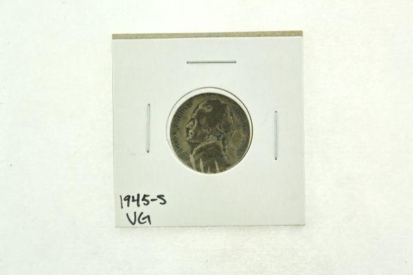 1945-S Jefferson Nickel (VG) Very Good N2-3298